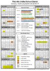 2016-2017 PAUSD Calendar
