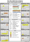 2017-2018 PAUSD Calendar